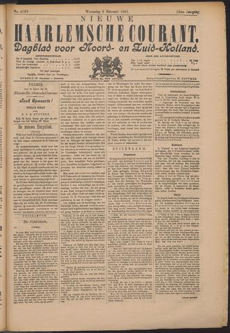 Nieuwe Haarlemsche Courant 1901-02-06