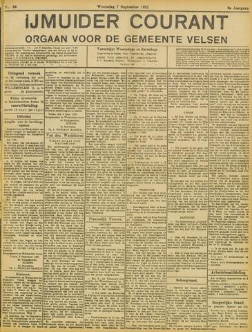 IJmuider Courant 1921-09-07
