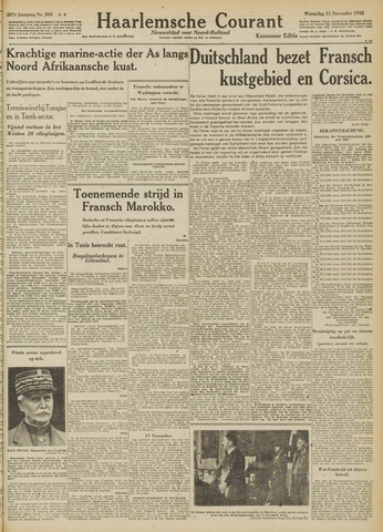 Haarlemsche Courant 1942-11-11