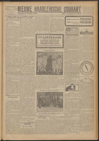 Nieuwe Haarlemsche Courant 1923-10-27