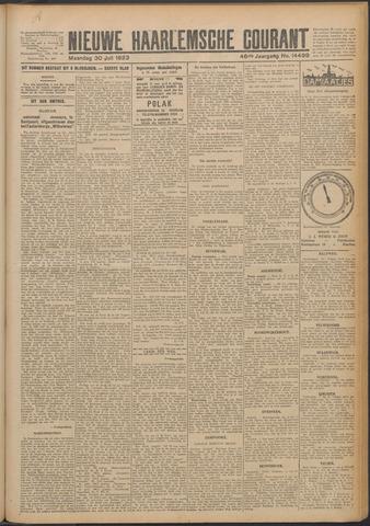 Nieuwe Haarlemsche Courant 1923-07-30