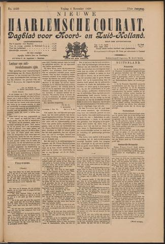 Nieuwe Haarlemsche Courant 1898-11-04