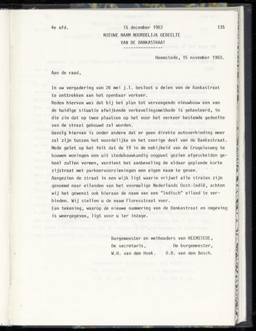 Raadsnotulen Heemstede 1983-12-15