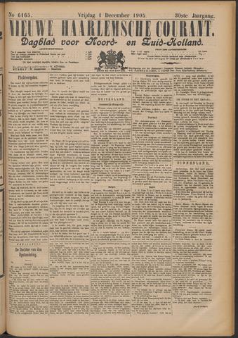 Nieuwe Haarlemsche Courant 1905-12-01