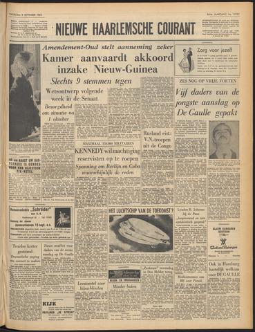 Nieuwe Haarlemsche Courant 1962-09-08