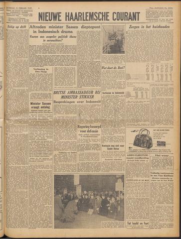 Nieuwe Haarlemsche Courant 1949-02-12
