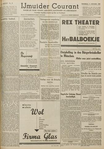 IJmuider Courant 1939-11-09