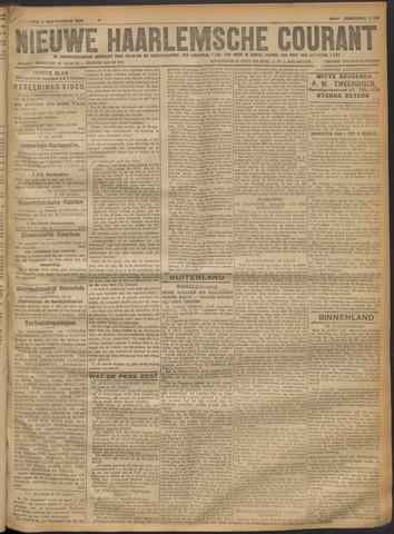 Nieuwe Haarlemsche Courant 1918-09-02