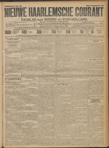Nieuwe Haarlemsche Courant 1911-01-18