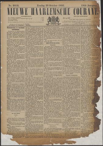 Nieuwe Haarlemsche Courant 1893-10-29