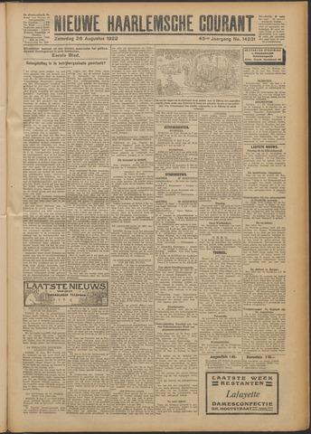 Nieuwe Haarlemsche Courant 1922-08-26
