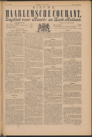Nieuwe Haarlemsche Courant 1899-04-07