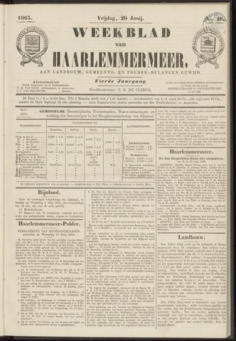 Weekblad van Haarlemmermeer 1863-06-26