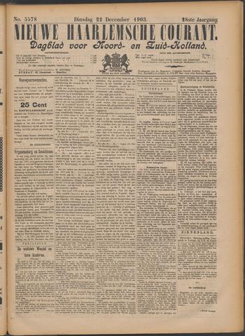 Nieuwe Haarlemsche Courant 1903-12-22