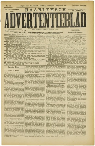 Haarlemsch Advertentieblad 1898-03-02