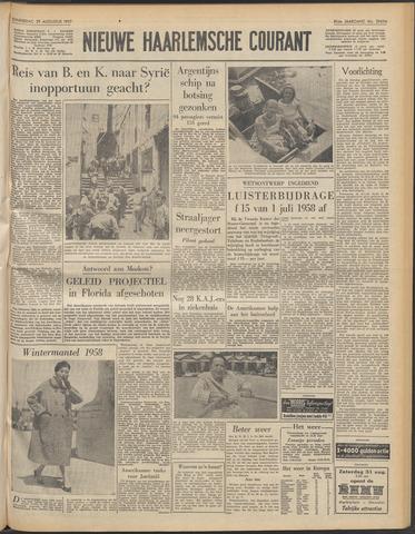 Nieuwe Haarlemsche Courant 1957-08-29