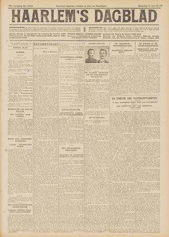 Haarlem's Dagblad 1926-06-14