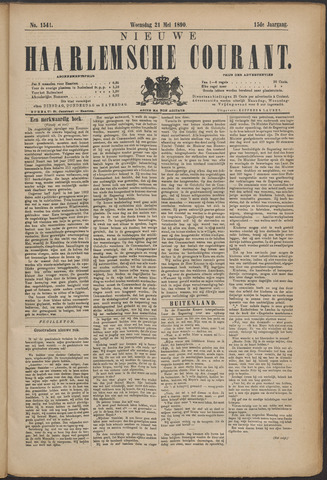 Nieuwe Haarlemsche Courant 1890-05-21