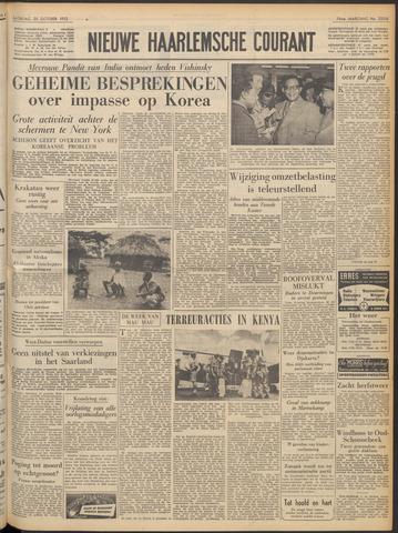 Nieuwe Haarlemsche Courant 1952-10-25