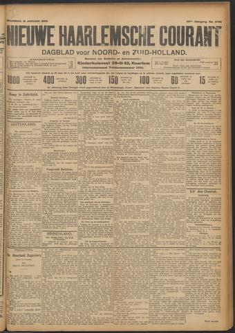 Nieuwe Haarlemsche Courant 1909-01-18