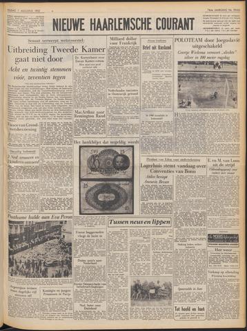 Nieuwe Haarlemsche Courant 1952-08-01
