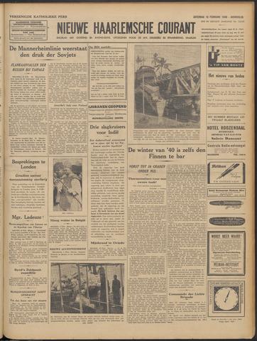 Nieuwe Haarlemsche Courant 1940-02-10