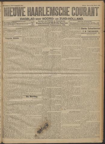 Nieuwe Haarlemsche Courant 1914-09-22
