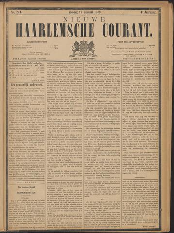 Nieuwe Haarlemsche Courant 1879-01-19