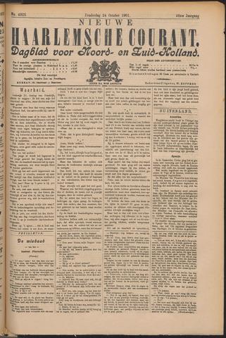 Nieuwe Haarlemsche Courant 1901-10-24