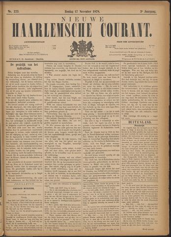 Nieuwe Haarlemsche Courant 1878-11-17