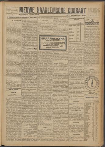 Nieuwe Haarlemsche Courant 1923-10-15
