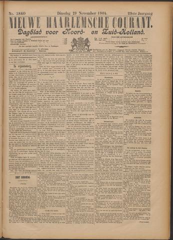 Nieuwe Haarlemsche Courant 1904-11-29