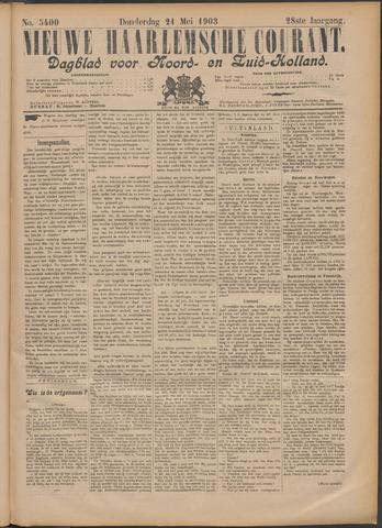 Nieuwe Haarlemsche Courant 1903-05-21