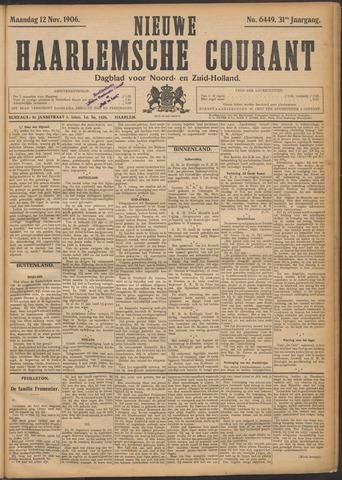 Nieuwe Haarlemsche Courant 1906-11-12