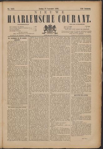 Nieuwe Haarlemsche Courant 1886-09-26