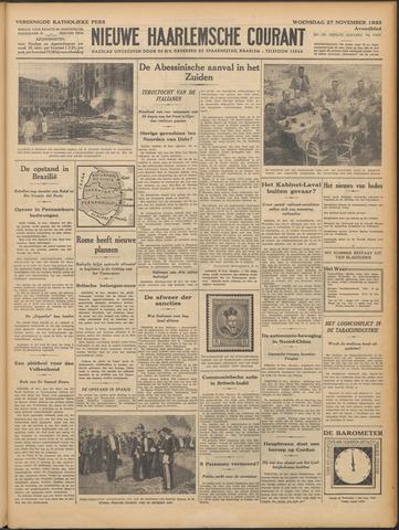 Nieuwe Haarlemsche Courant 1935-11-27