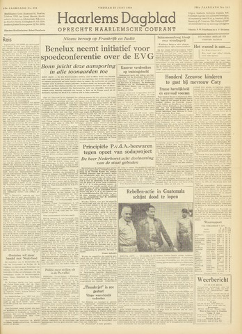 Haarlem's Dagblad 1954-06-25