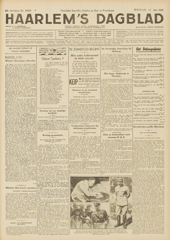 Haarlem's Dagblad 1935-05-14
