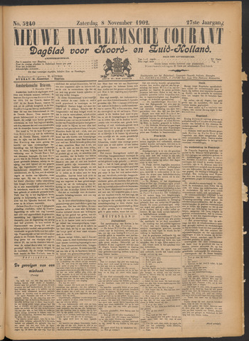 Nieuwe Haarlemsche Courant 1902-11-08