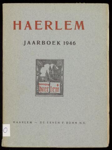 Jaarverslagen en Jaarboeken Vereniging Haerlem 1946-01-01