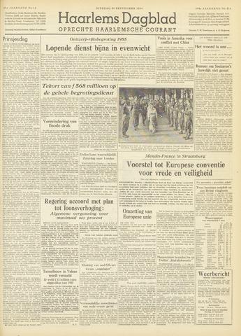 Haarlem's Dagblad 1954-09-21