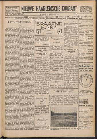 Nieuwe Haarlemsche Courant 1931-09-19