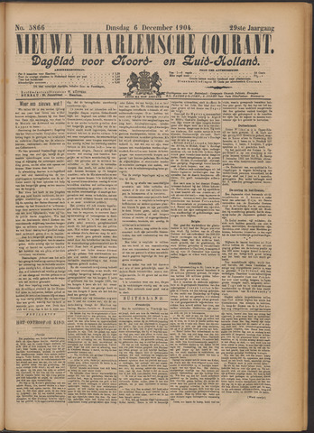 Nieuwe Haarlemsche Courant 1904-12-06