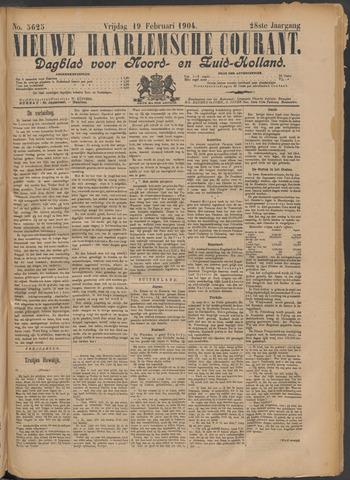 Nieuwe Haarlemsche Courant 1904-02-19