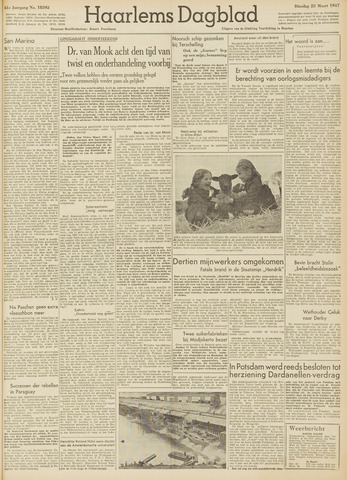 Haarlem's Dagblad 1947-03-25