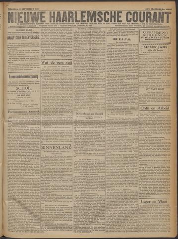 Nieuwe Haarlemsche Courant 1919-09-15