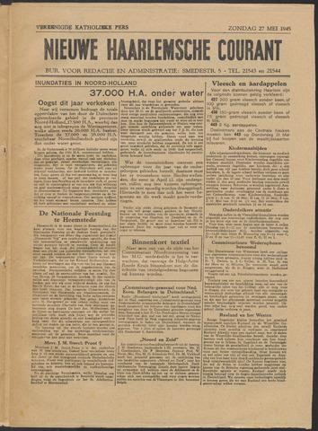 Nieuwe Haarlemsche Courant 1945-05-27