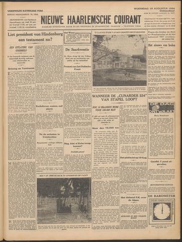 Nieuwe Haarlemsche Courant 1934-08-15