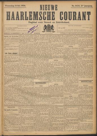 Nieuwe Haarlemsche Courant 1906-10-24