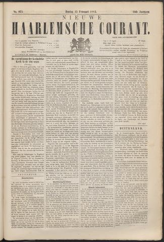 Nieuwe Haarlemsche Courant 1885-02-15